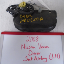 Load image into Gallery viewer, 2008 Nissan Versa Driver Seat Airbag (LEFT)