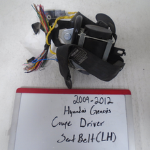Load image into Gallery viewer, 2009-2012 Hyundai Genesis Coupe Driver Seat Belt (LEFT)
