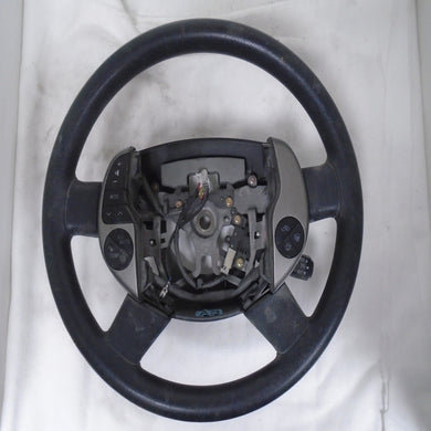 2006 Toyota Prius Black Driver Steering Wheel (left)