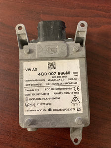 2016-2017 AUDI LANE CHANGE ASSIST MODULE  PN: 4G0907566M