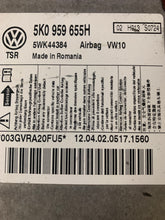 Load image into Gallery viewer, 2012 Volkswagen Golf AIRBAG MODULE PN: 5K0 959 655H