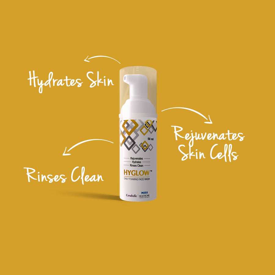 Hyglow Daily Foaming Face Wash