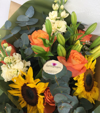 Mixed flower bunch delivered to Tugun, Biling, Currumbin, Palm Beach florist