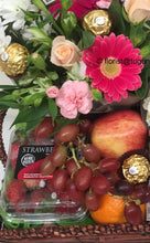 Load image into Gallery viewer, gourmet hampers and flowers delivered Tugun, Currumbin Bilinga flowers