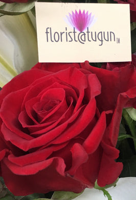 single rose delivery gold coast, rose to tugun, tugun flowers, tugun flower delivery