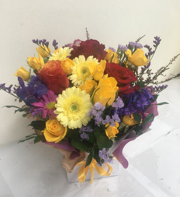 Mixed flower bunch delivered to Tugun, Bilinga Flowers, Mothers Day flowers Gold Coast
