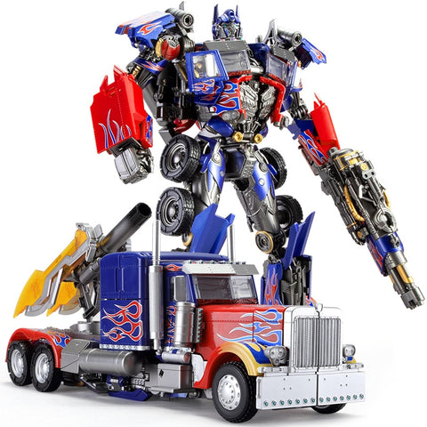 Optimus Prime Transformers Black Mamba Action Figure