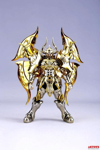 Taurus Aldebaran God Cloth Soul Of Gold Saint Seiya Metal Armor Myth