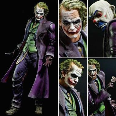 DC Comics Joker The Dark Knight Play Arts Kai Action Figure
