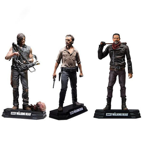 The Walking Dead Season 8 Rick Grimes Daryl Dixon Negan action figure