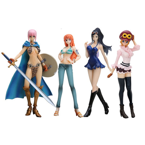 One Piece Dead or Alive Nico Koala Nami Action Figure Model Collection