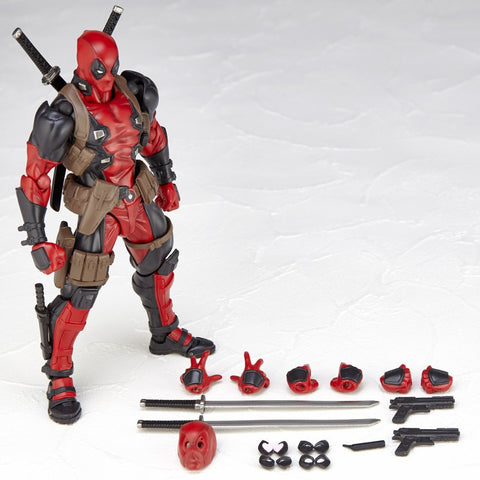 Deadpool movable action figure