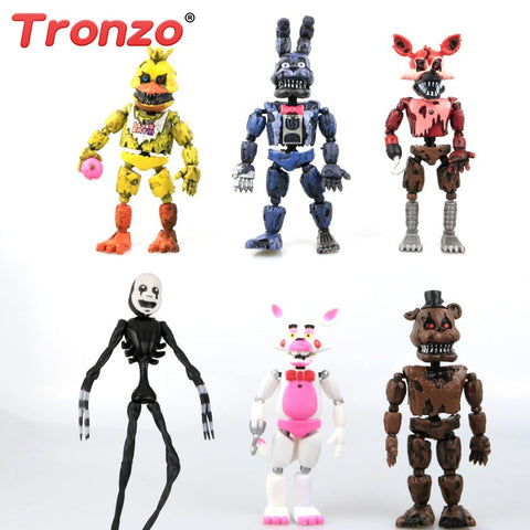 Five Nights At Freddy Action Figure Toys Deformable FNAF