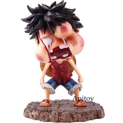 One Piece Monkey D Luffy Action Figure Collectible 2 Styles