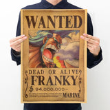 One Piece Wanted Poster