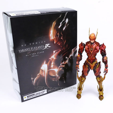Variant Play Arts DC Comics No.4 The Flash Action Figure