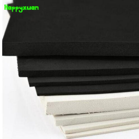 EVA Foam Sheet Cosplay White Black 45 degree Sponge Paper 5 pcs/lot 50*35cm 5mm