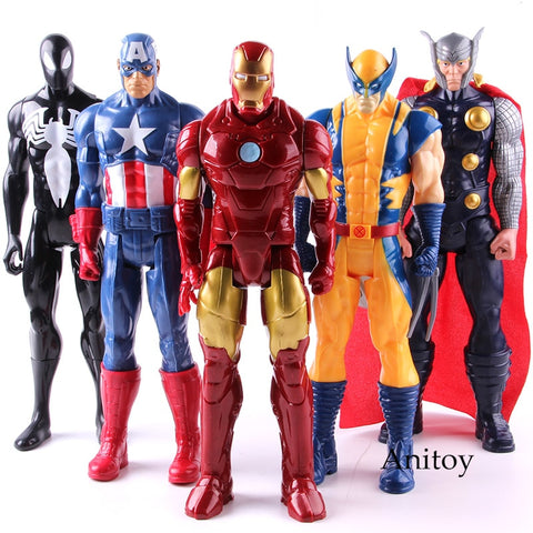 Marvel Avengers Assemble Titan Hero Series Action Figure Collectible