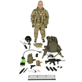 Movable Soldier Military Action Figure Suit Special Forces Clothes Accessories for 12'' Soldier Model