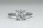 Claire Cushion Solitaire Ring