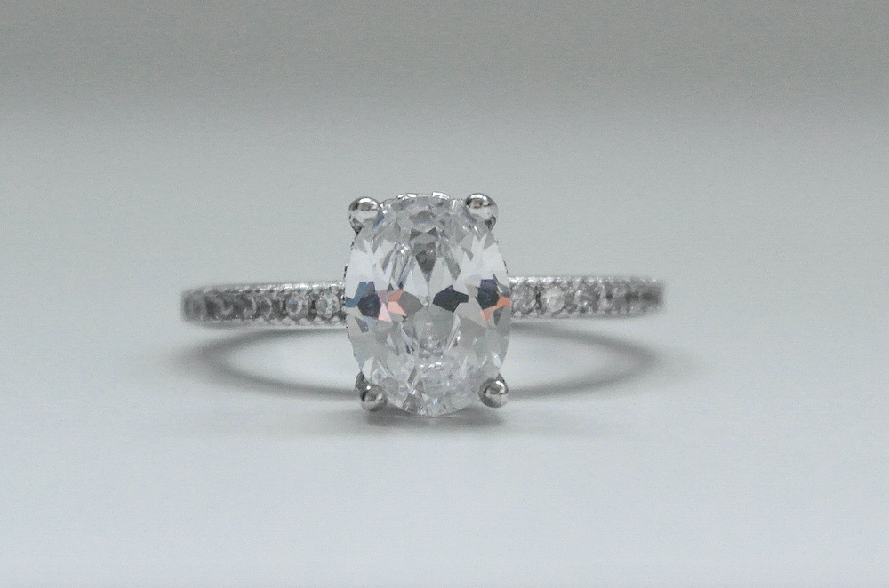 Olivia Oval Solitaire Ring