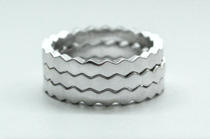 Hexagon Smooth Band