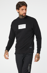 MAUVAIS Black Box Logo Sweatshirt