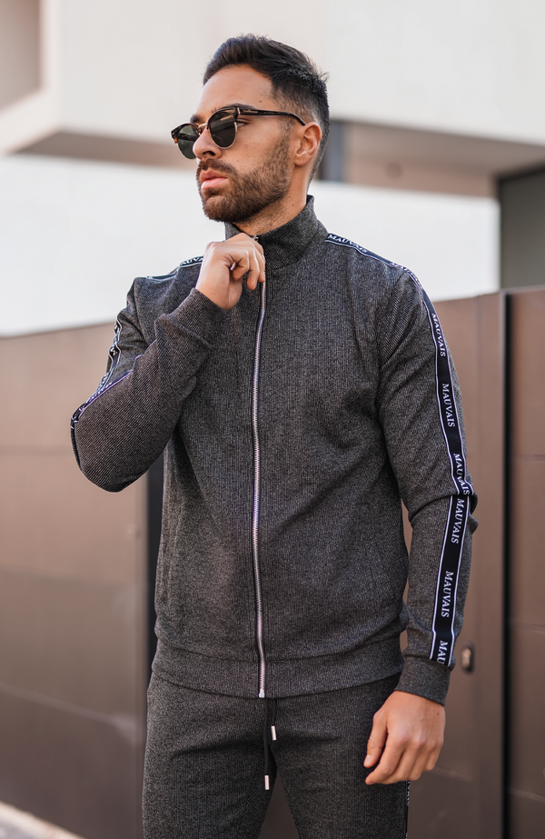 Black Vérane Smart Track Jacket