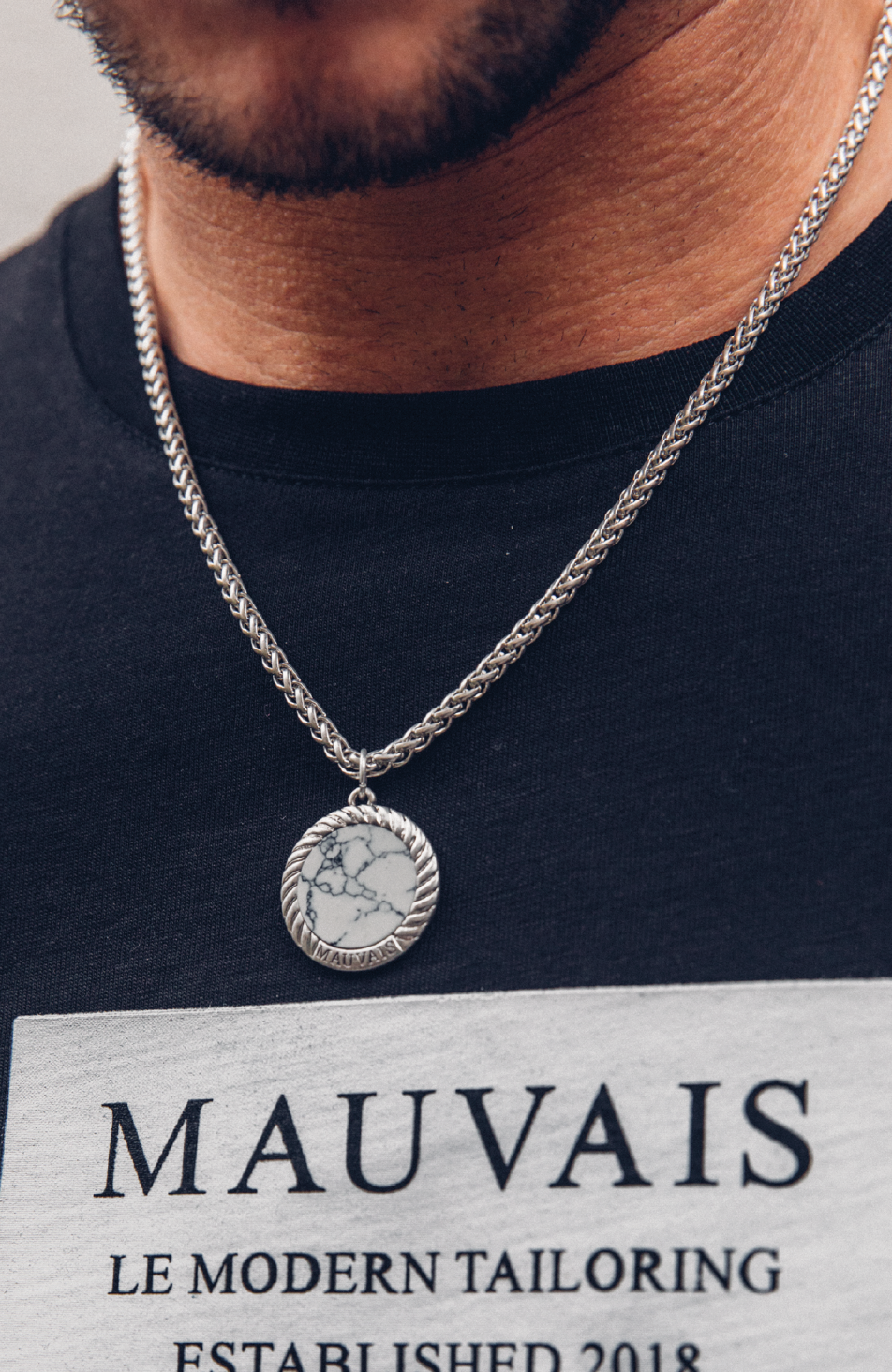 White Marble Pendant (Pre-Order Dispatched 8th November)