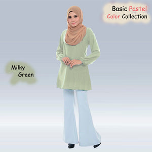 Fabia Pastel Basic Blouse