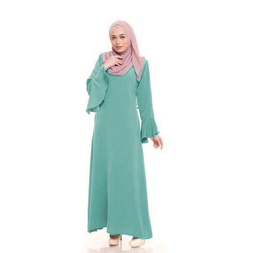 Yara Slim Fit Pocket Jubah - HannahSG