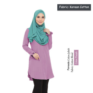Fareeda COTTON Blouse - HannahSG