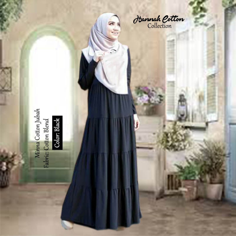 Minna Cotton Jubah - HannahSG