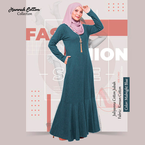 Juliyanna Cotton Jubah