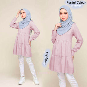 Nora Pastel Color Blouse