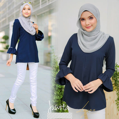 Juwita Long Blouse - HannahSG