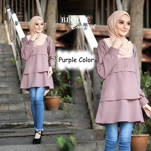 Maslina Layer Blouse - HannahSG