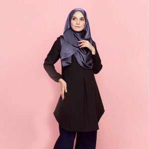Munirah Pocket Long Blouse