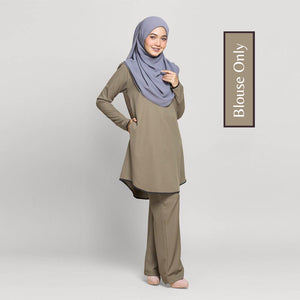 Mira Pocket Long Blouse