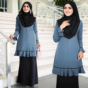 Nina Pocket Long Blouse