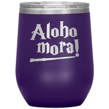 Aloho Mora Fantastic Wine Tumbler with Lid [Made Exclusively For Wizards, Witches & Warlocks]