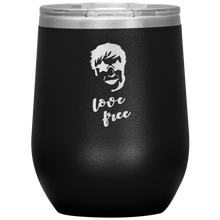 Love Free Elton John Wine Tumbler with Lid [Sure To Get Your Groove Going!]