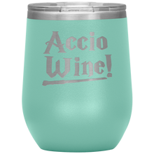 Accio Wine Fantastic Wine Tumbler with Lid [Made Exclusively For Wizards, Witches & Warlocks]