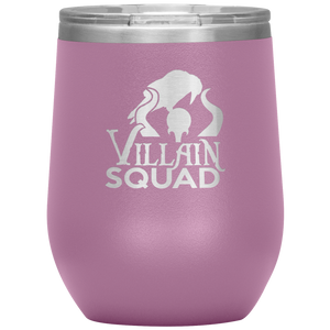 Maleficent Villain Wine Tumbler with Lid
