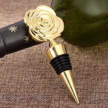 Elegant Rose Flower Wine Bottle Stopper [Truly Fit For A Princess ...And Her Beast!]