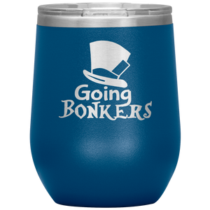 Alice's Going Bonkers Wine Tumbler with Lids [We're Going MAD For These!]
