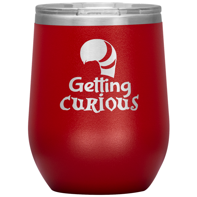 Alice's Getting Curious Wine Tumbler with Lid [We're Going MAD For These!]