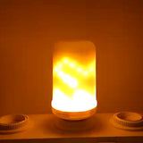 LED lamp Flame Effect Fire Light - Deals Xtreme