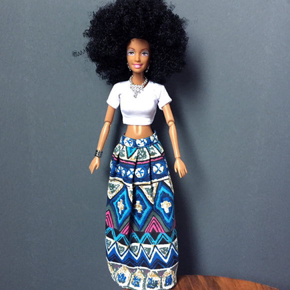 Baby Movable Joint African Doll Toy Black Doll Best Gift Toy - Deals Xtreme