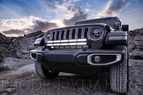 2018-2019 Jeep JL Wrangler Bumper LED Light Bar Kit